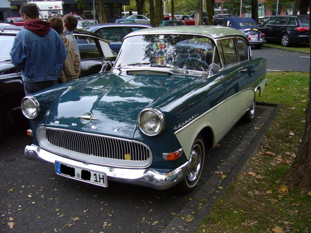 1958 opel olympia rekord information and photos momentcar. Black Bedroom Furniture Sets. Home Design Ideas