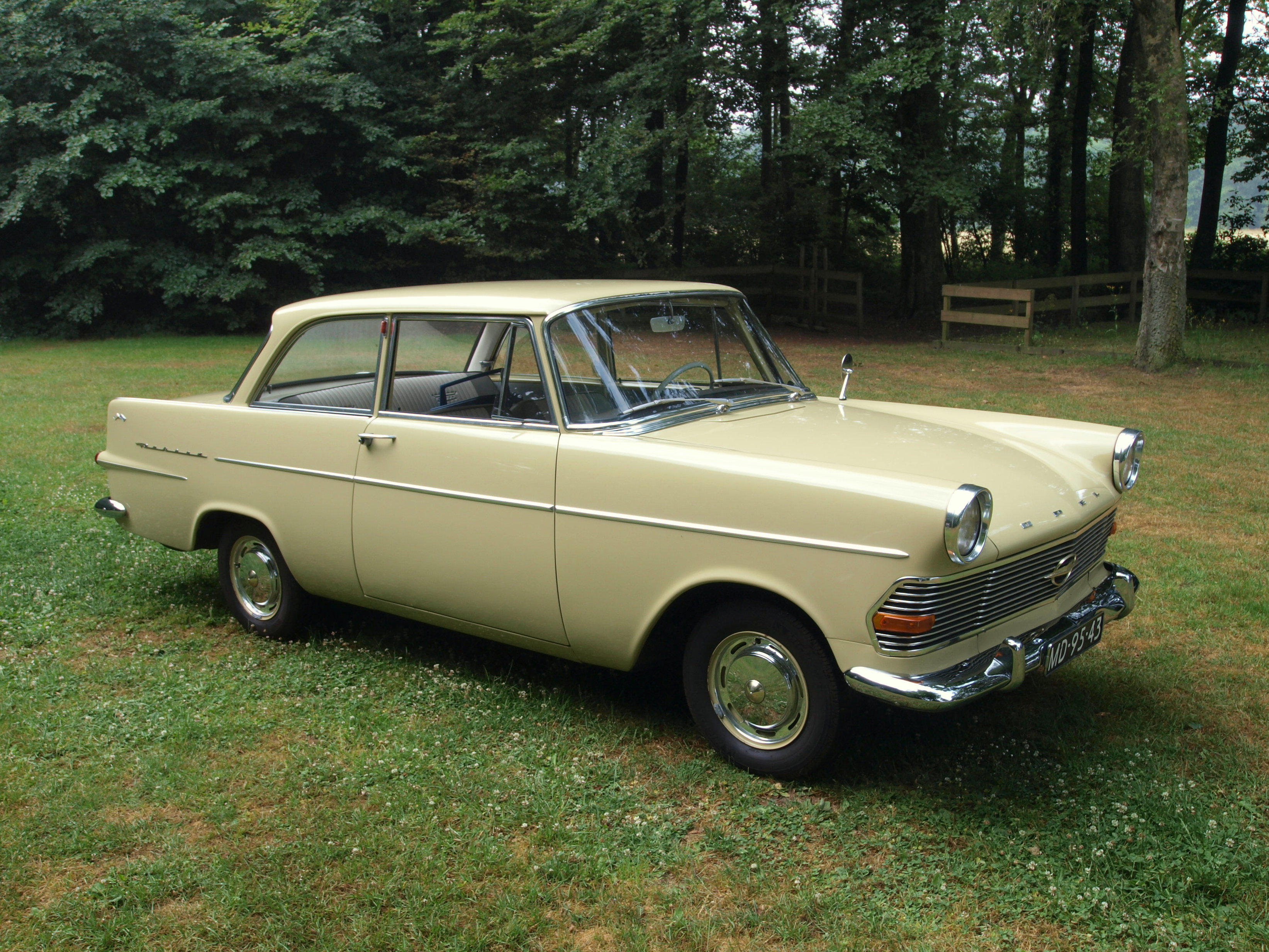 1962 opel olympia rekord - information and photos