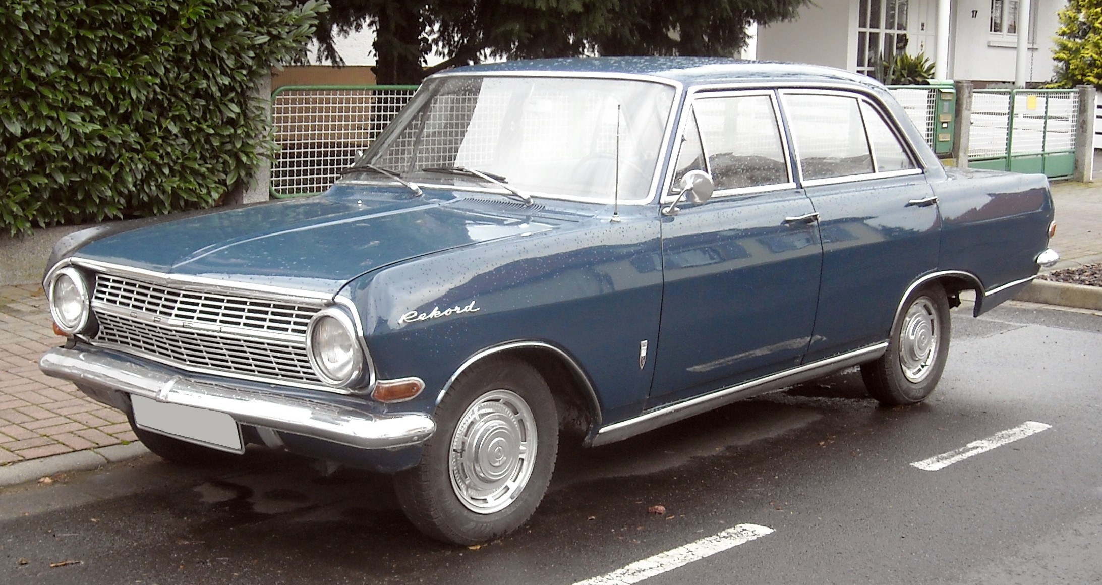 1963 opel olympia rekord information and photos momentcar. Black Bedroom Furniture Sets. Home Design Ideas