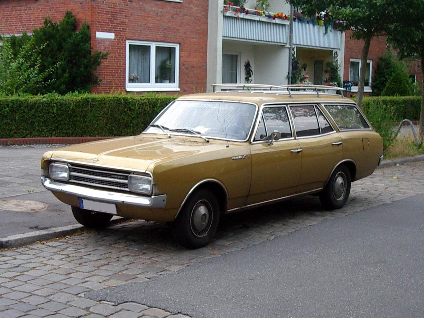 1966 Opel Sport Series Information And Photos Momentcar