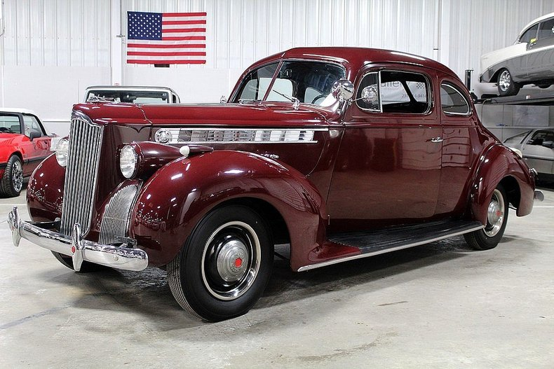 1940 Packard 110 - Information and photos - MOMENTcar