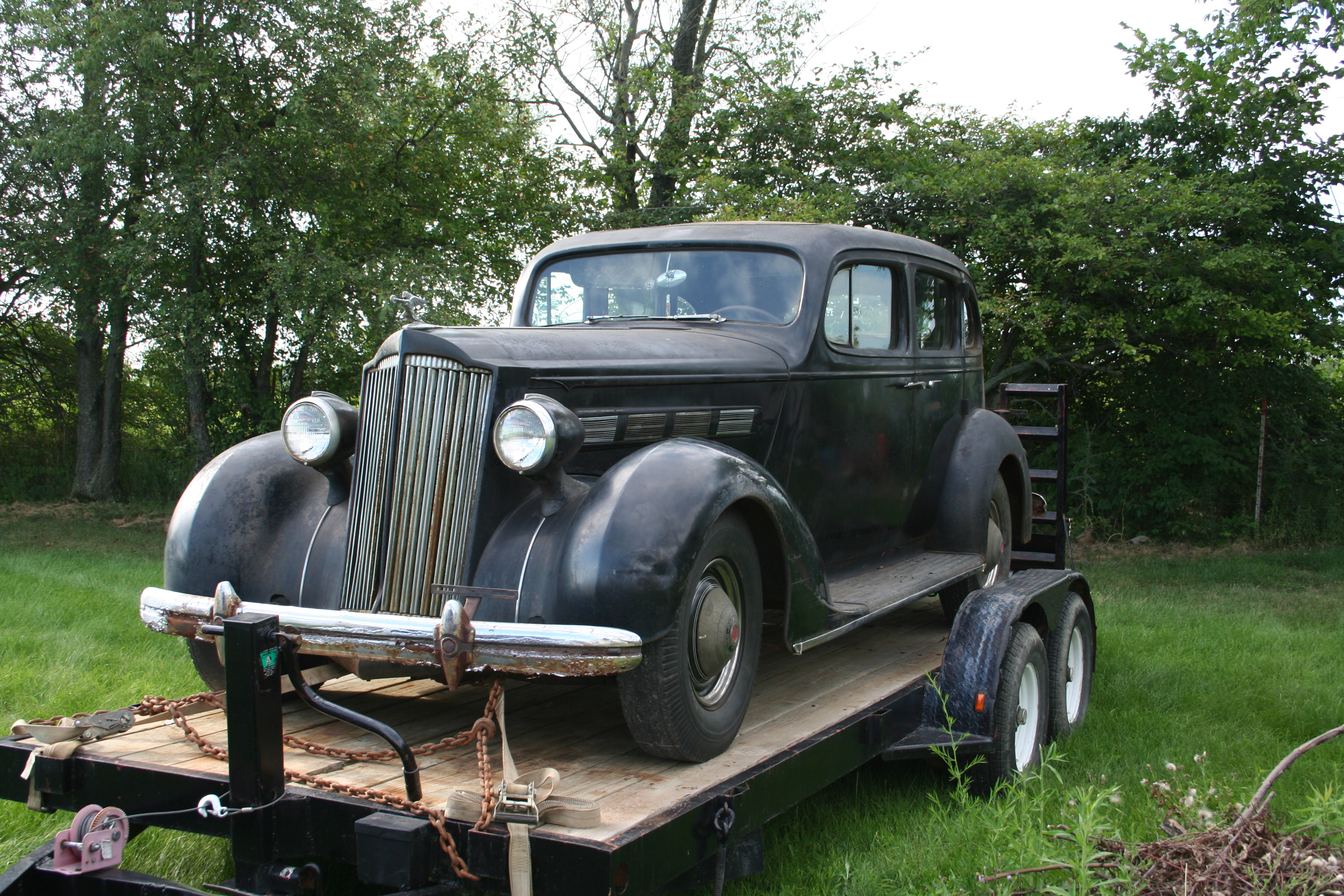 Packard 120CD 1937 #9