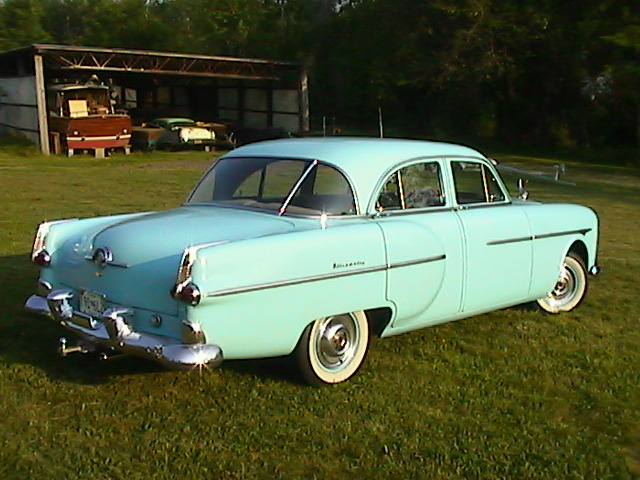 1952 packard 300 information and photos momentcar for 1952 packard 4 door sedan