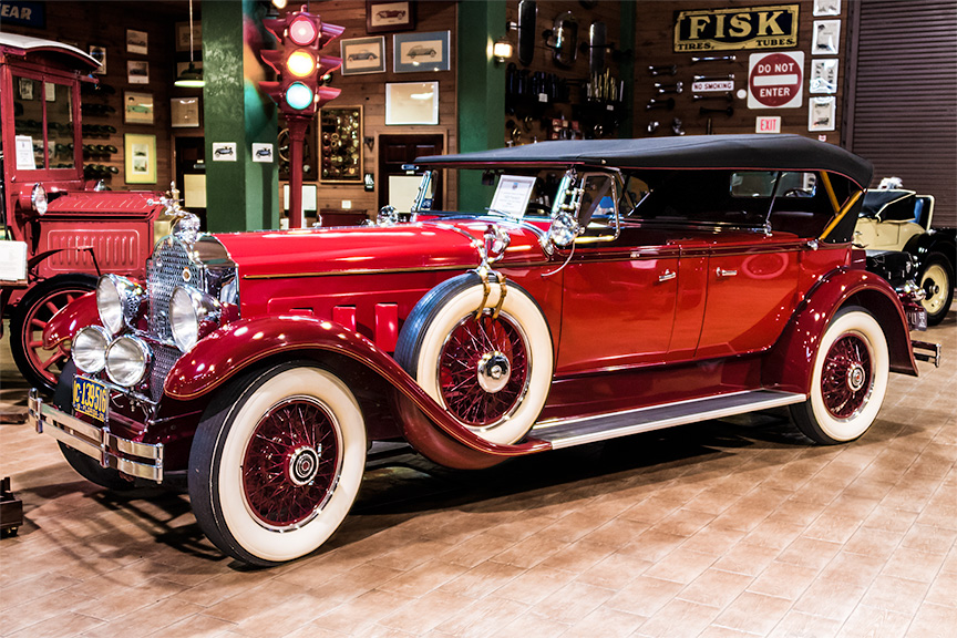 Auction results and data for 1929 Packard 645 Deluxe Eight ...