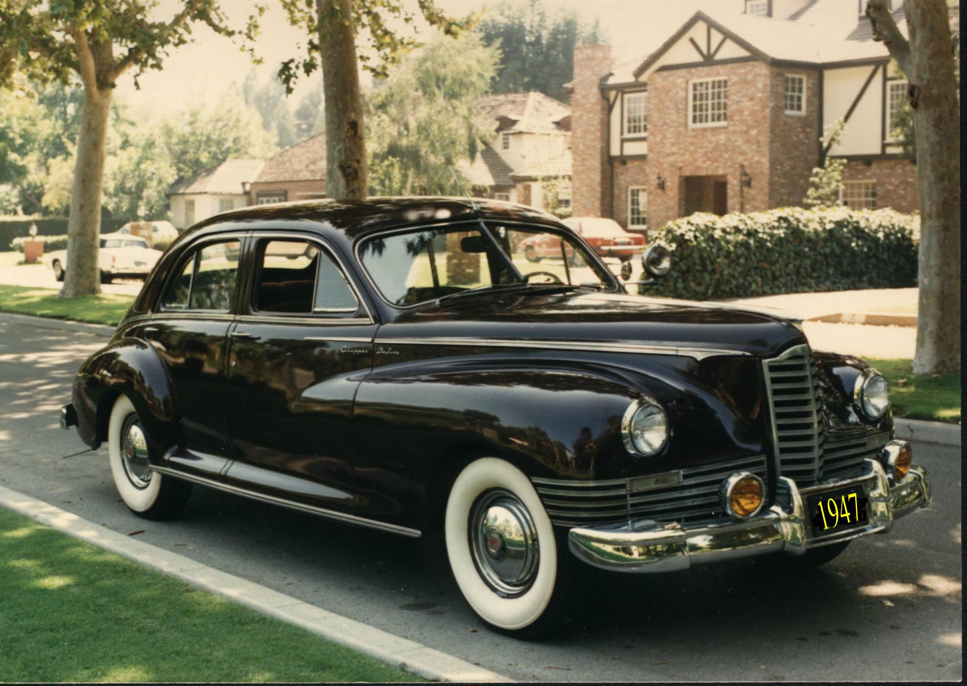 1947 Packard Clipper - Information and photos - MOMENTcar