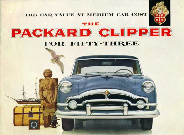 Packard Clipper 1952 #6