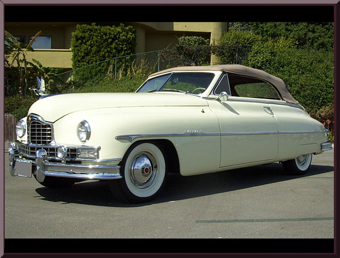 packard custom eight 1950 4 1950 packard custom eight information and photos momentcar 1954 Packard Clipper Deluxe at crackthecode.co