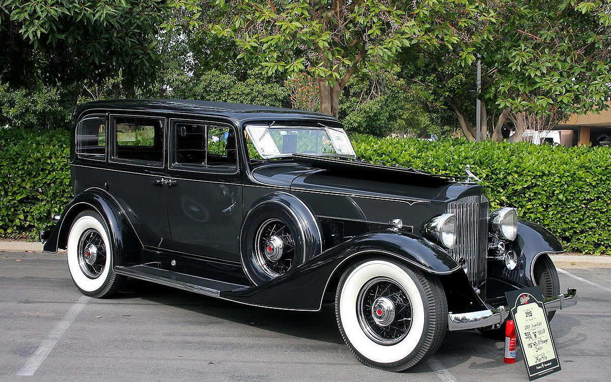 1933 Packard Eight Information And Photos Momentcar