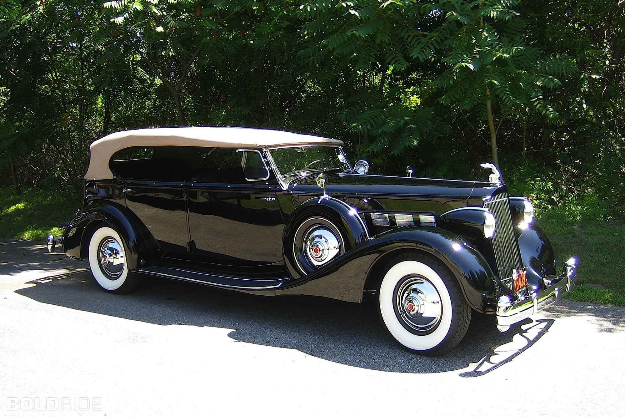1936 Packard Super Eight Information And Photos Momentcar