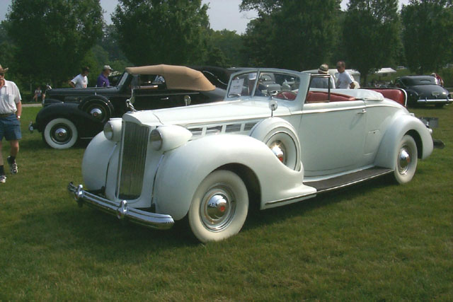 Packard Super Eight 1938 #2