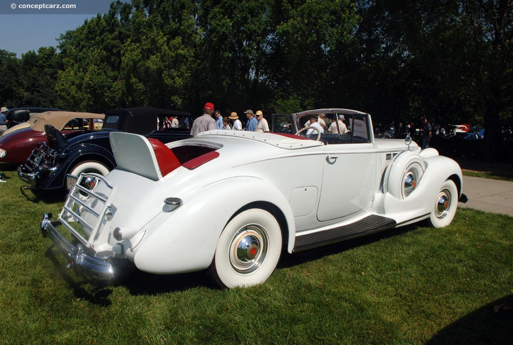 Packard Super Eight 1938 #3
