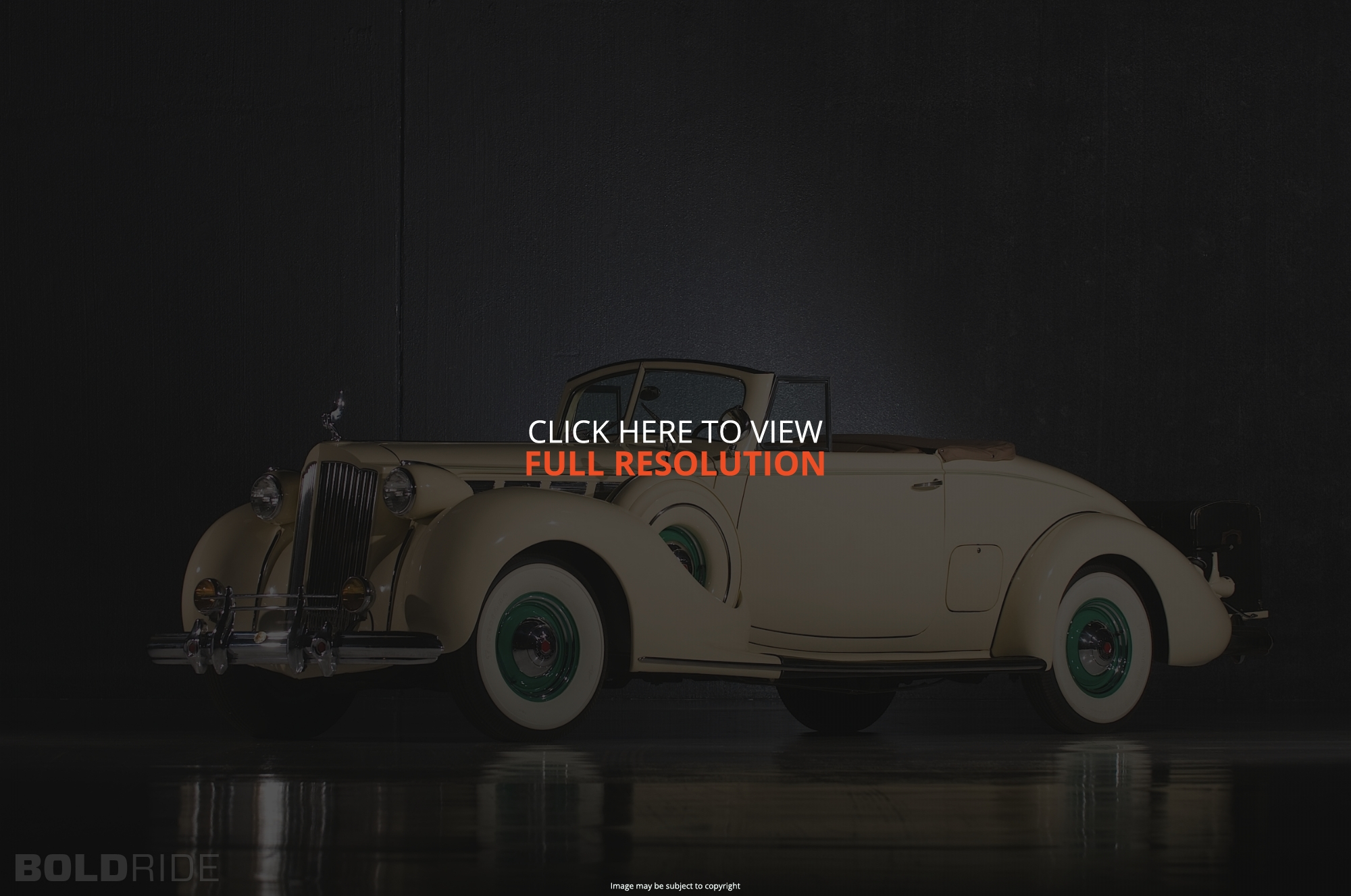 Packard Super Eight 1938 #8