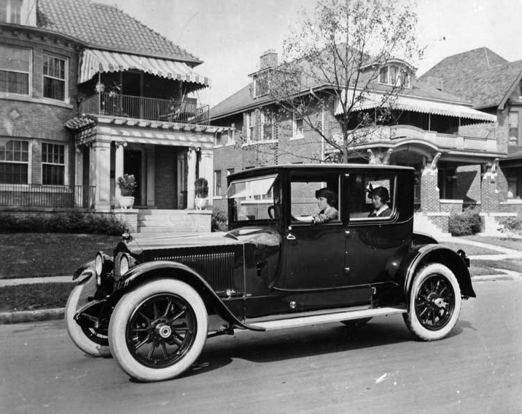 1923 packard twin six information and photos momentcar for Lincoln motor company headquarters