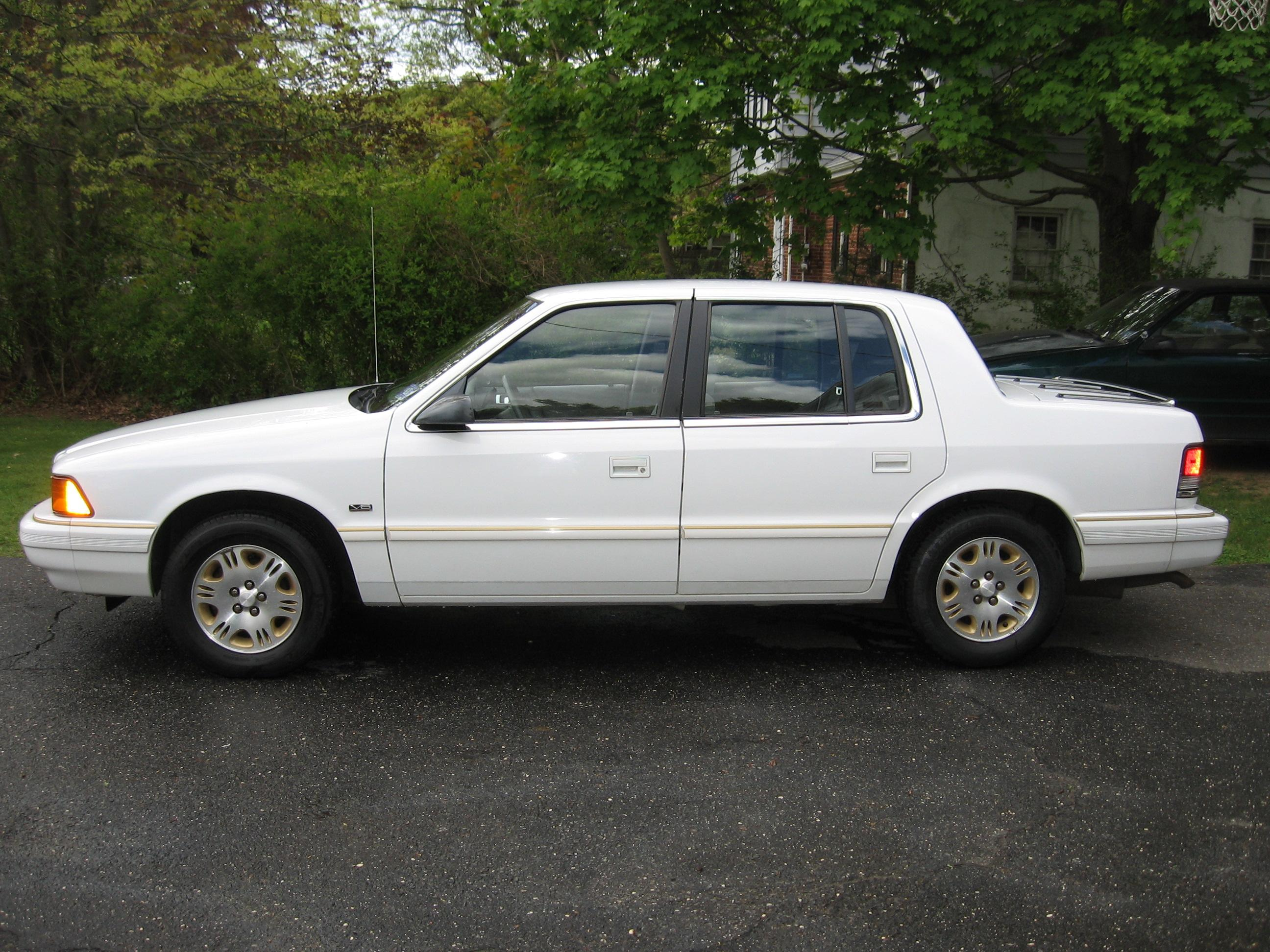 1993 Plymouth Acclaim Information And Photos Momentcar