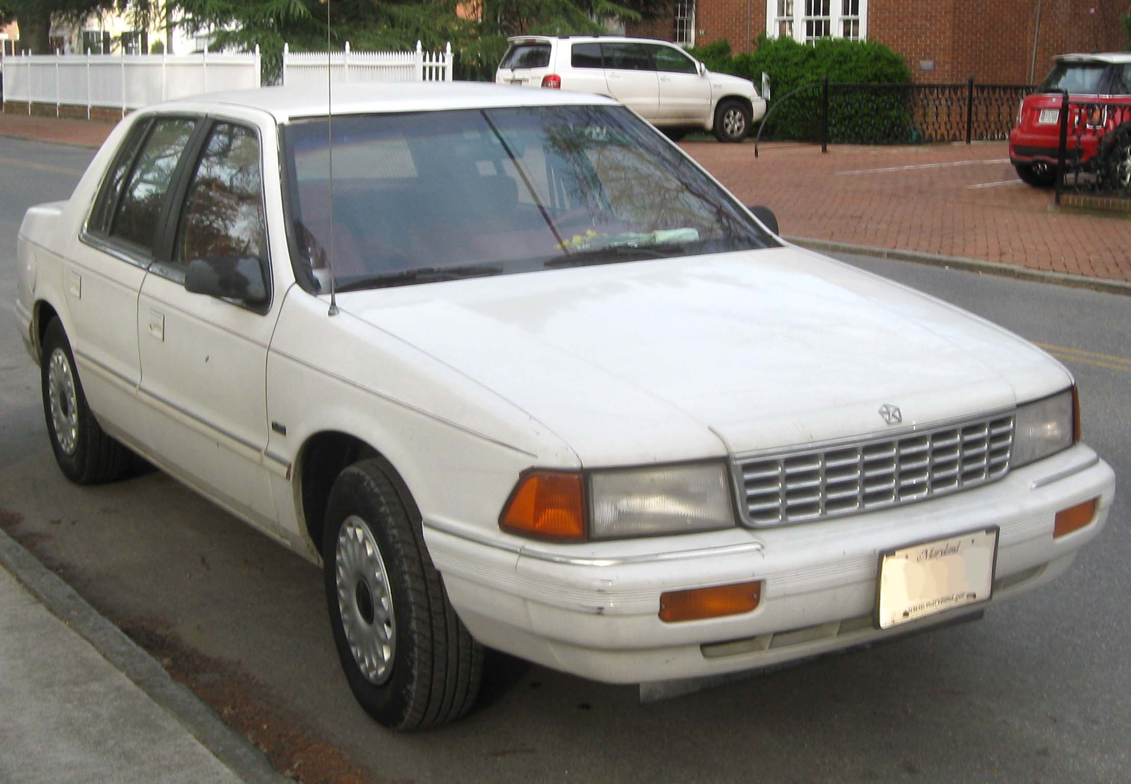 1994 Plymouth Acclaim Information And Photos Momentcar