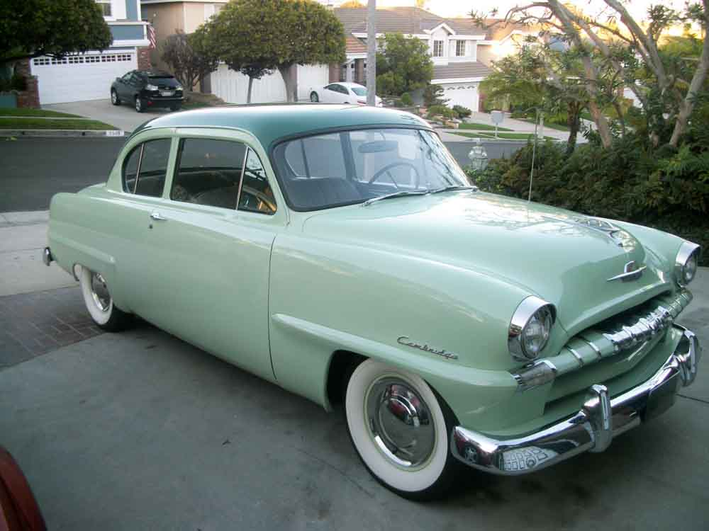 1953 Plymouth Cambridge Information And Photos Momentcar