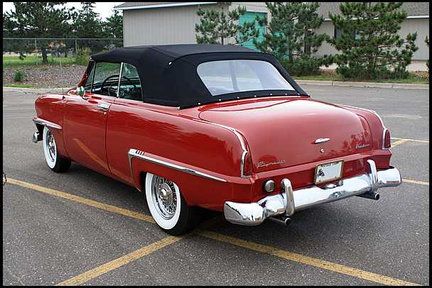 1953 Plymouth Cranbrook Information And Photos Momentcar