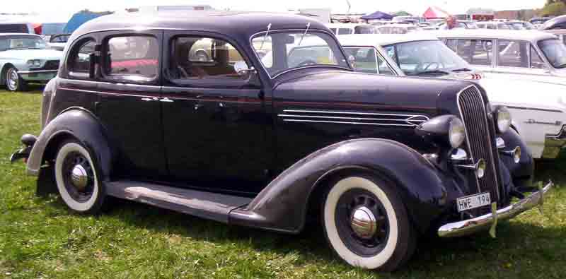 Oldtimer gallery. Cars. 1936 Plymouth.