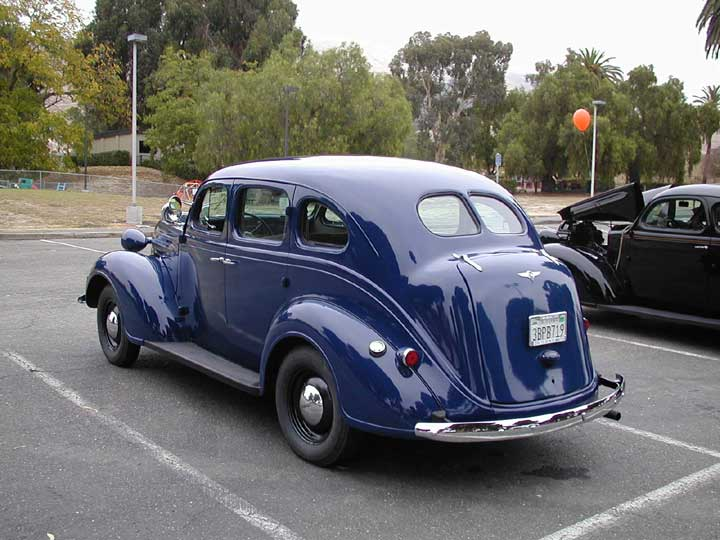1937 plymouth deluxe information and photos momentcar for 1937 dodge 2 door sedan