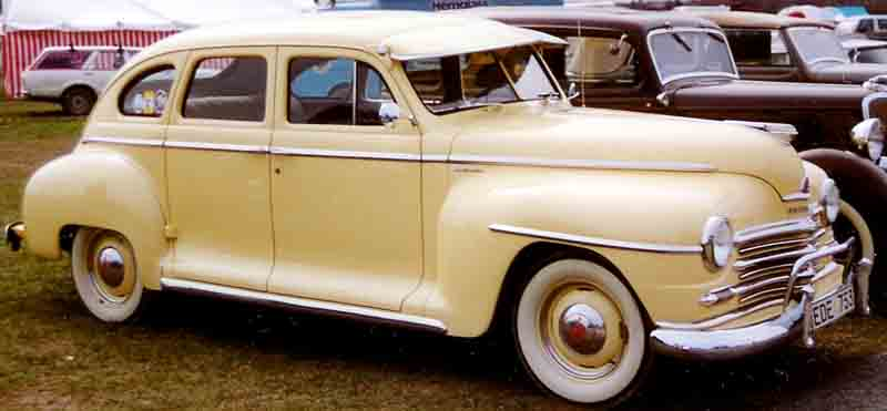 1946 plymouth deluxe information and photos momentcar for 1946 plymouth special deluxe 4 door