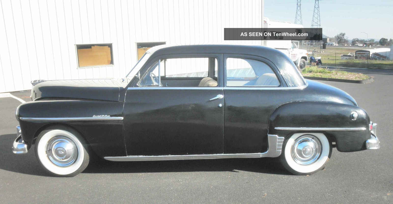 Snap 1950 Plymouth Deluxe Information And Photos Momentcar On Wiring Diagram