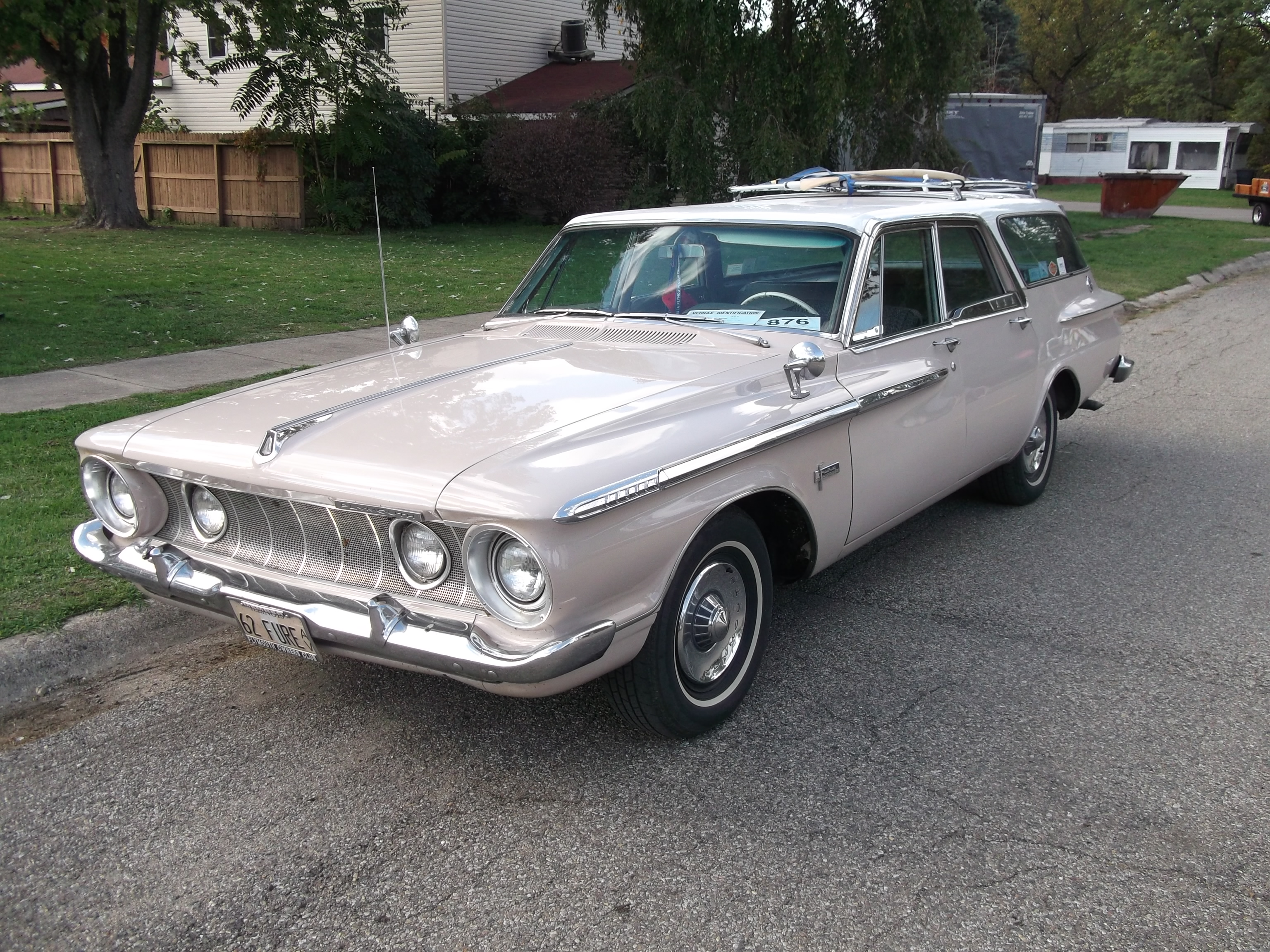 1962 plymouth fury information and photos momentcar. Black Bedroom Furniture Sets. Home Design Ideas