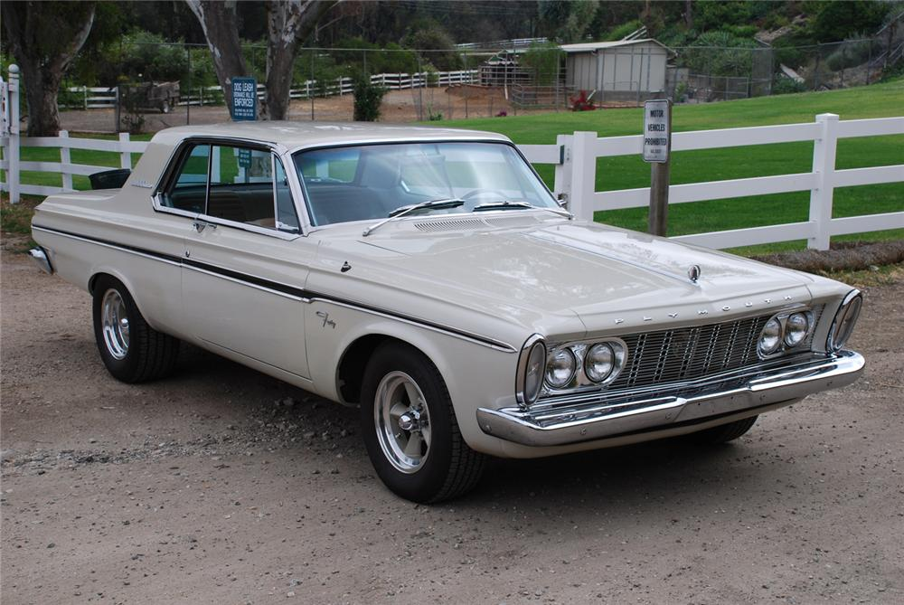 1963 Plymouth Fury Information And Photos Momentcar