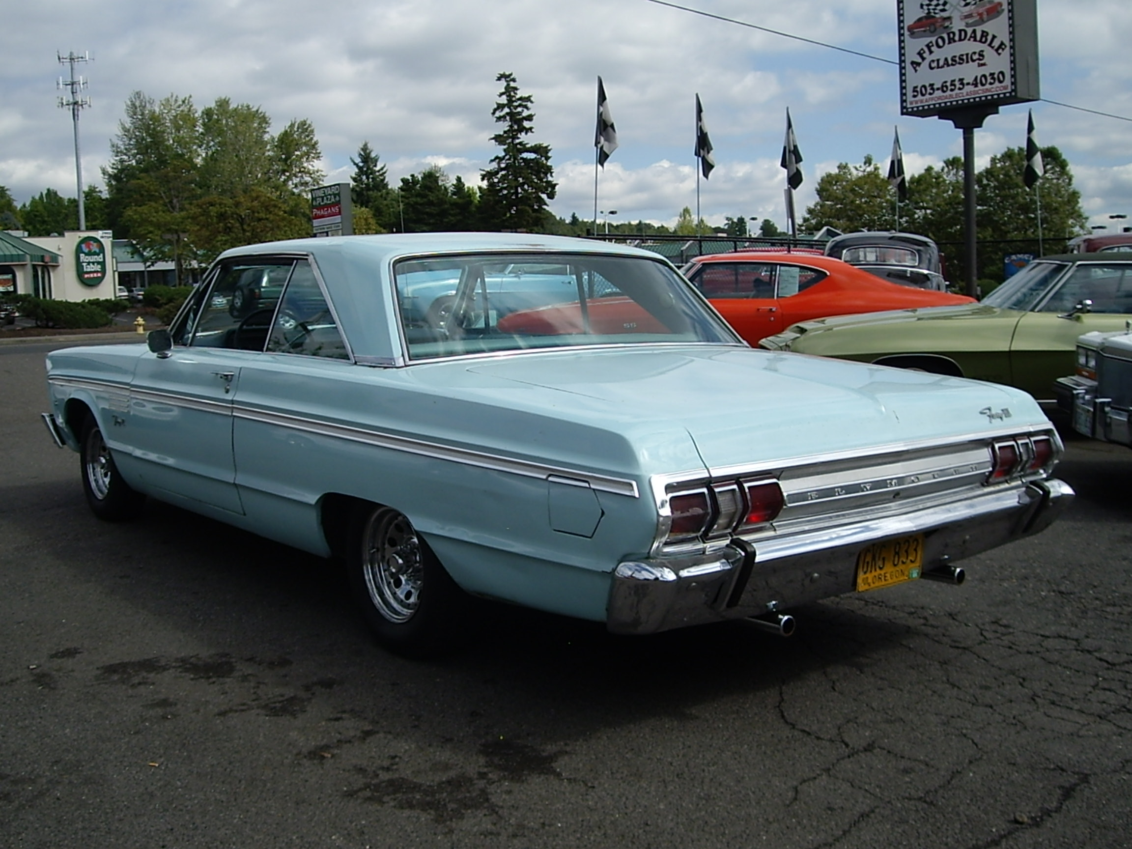 1965 Plymouth Fury Information And Photos Momentcar