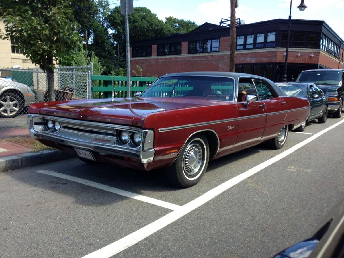 Plymouth Fury 1971 #13