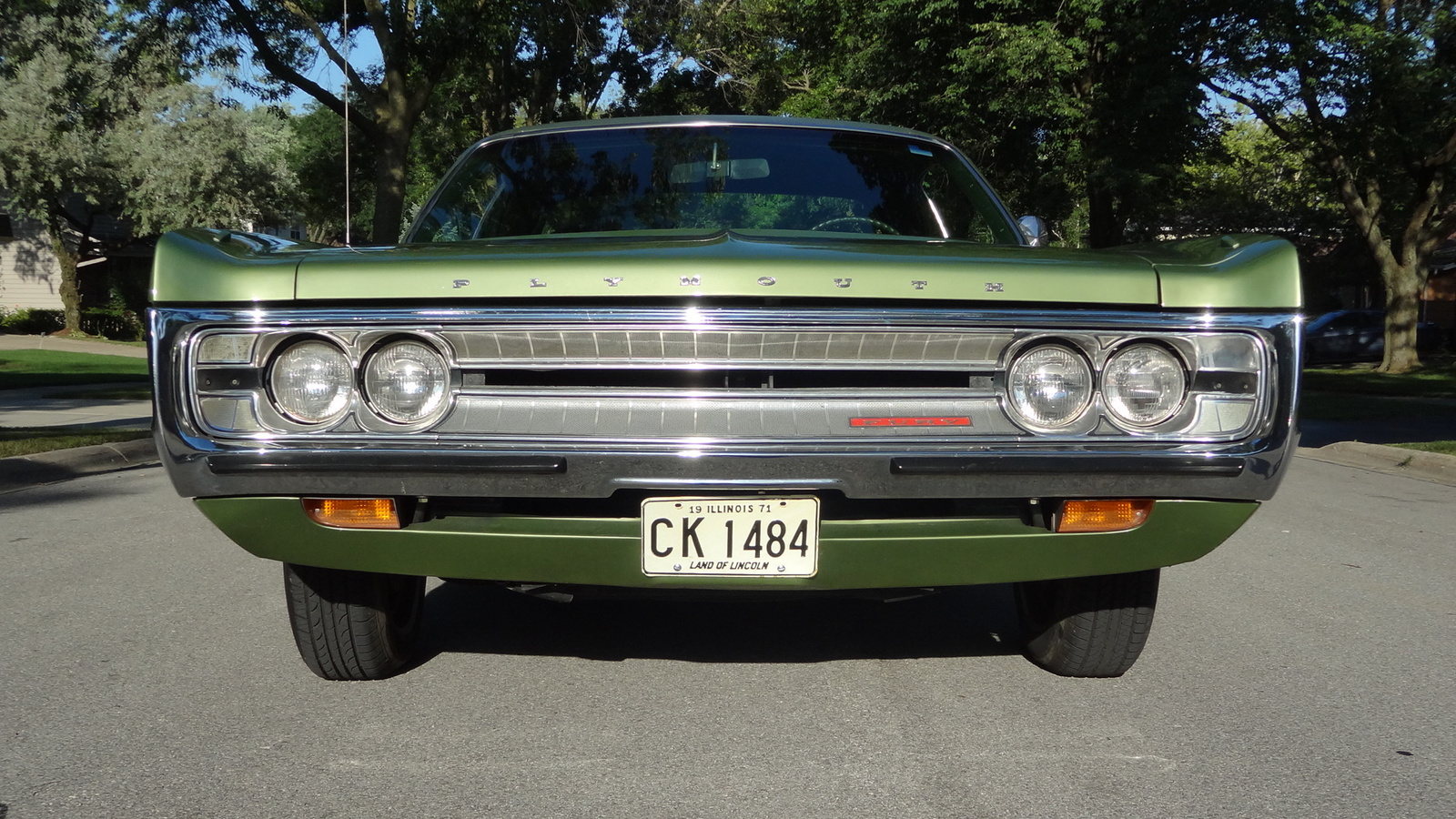 Plymouth Fury on 1972 Dodge Challenger Pro Street