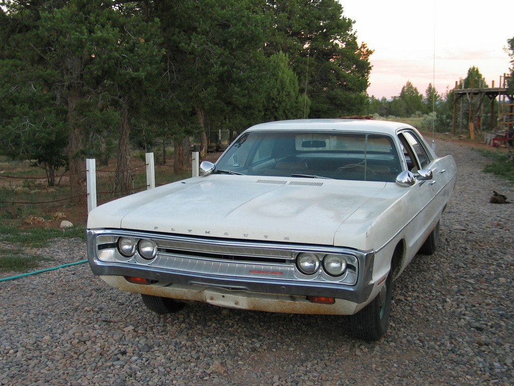 Plymouth Fury 1971 #8