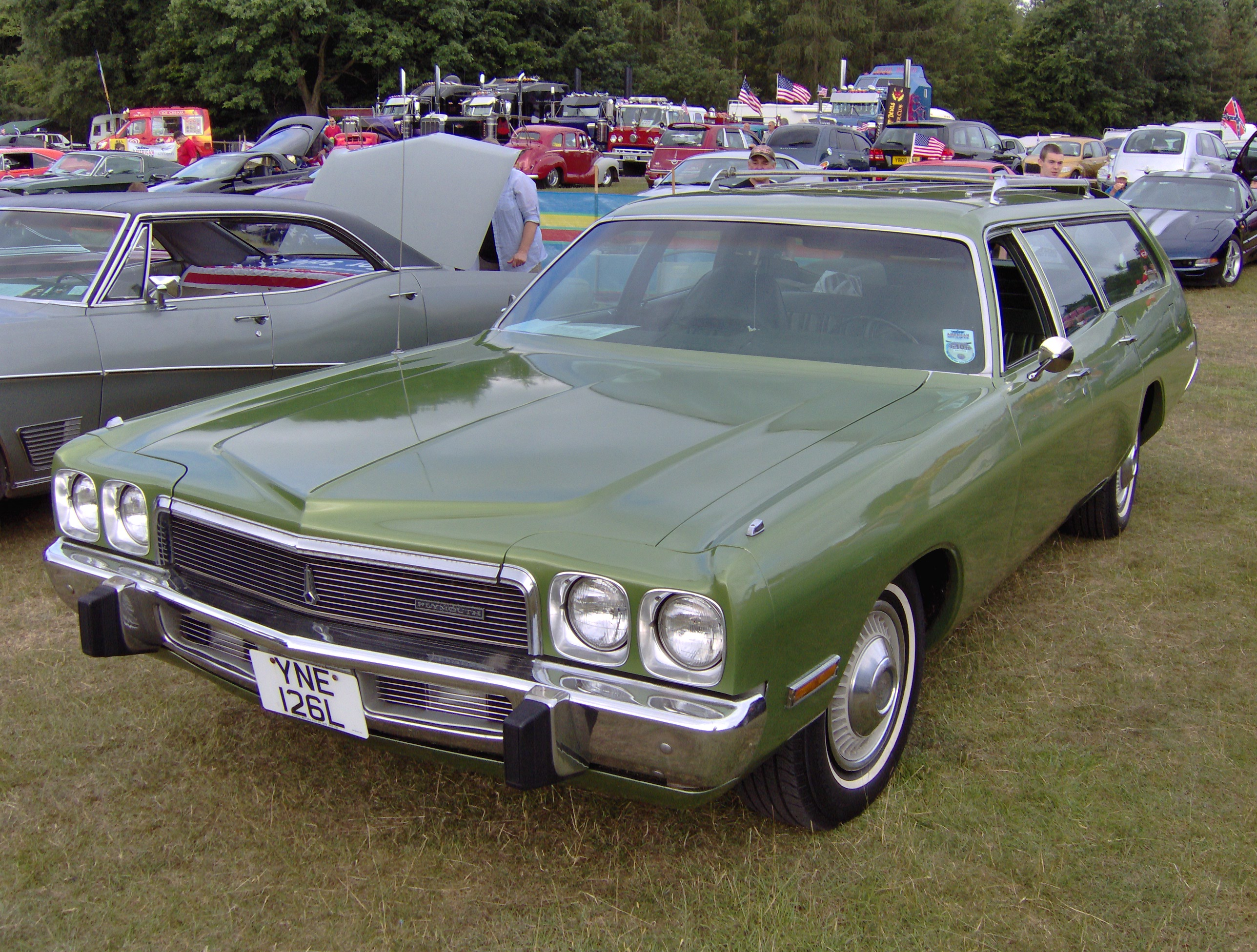 1975 Plymouth Fury Information And Photos Momentcar