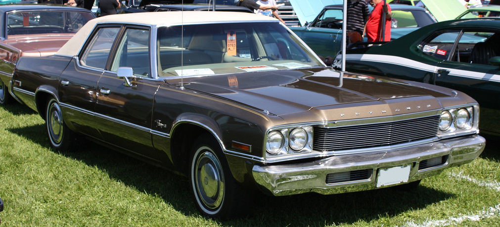 1974 Plymouth Gran Fury - Information and photos - MOMENTcar