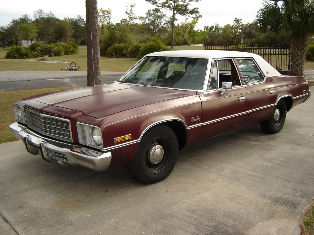 1976 Plymouth Gran Fury Information And Photos Momentcar