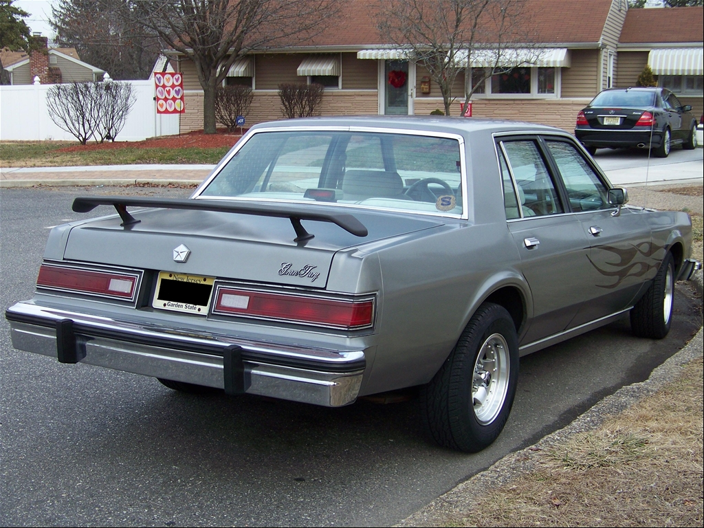 Plymouth Gran Fury 1987 #6