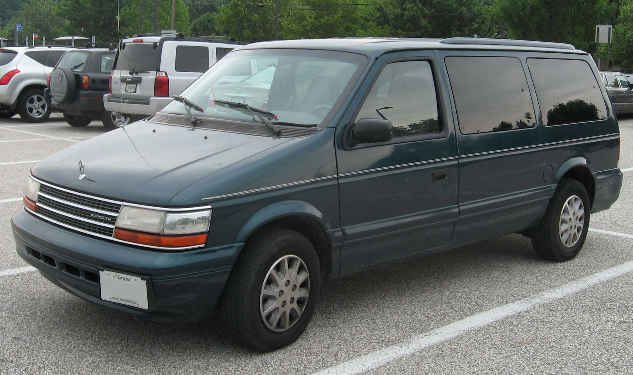 Plymouth Grand Voyager 1996 #10