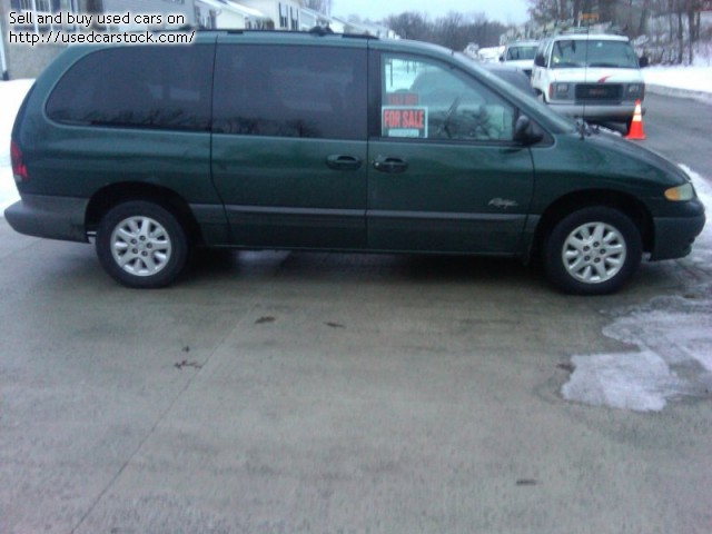 Plymouth Grand Voyager 1997 #7
