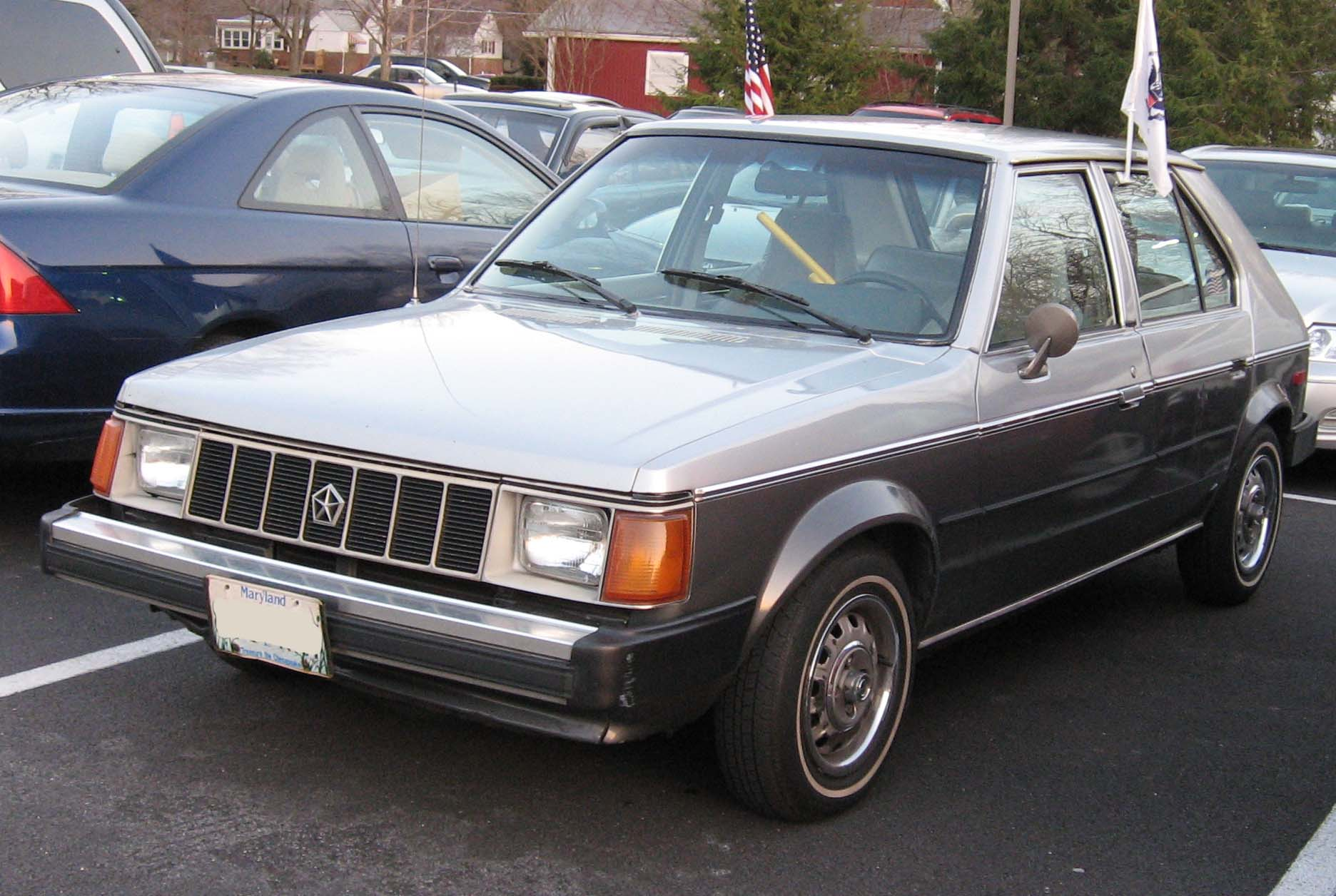 Plymouth Horizon 1988 #9