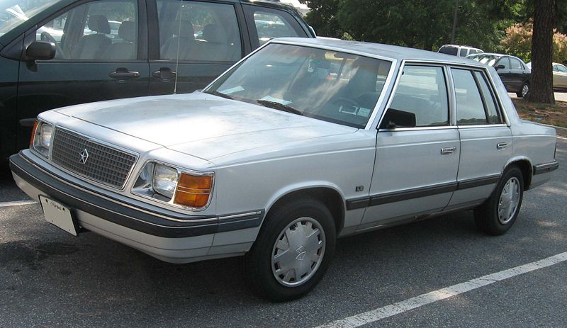 PLYMOUTH RELIANT - 75px Image #4MOMENTcar