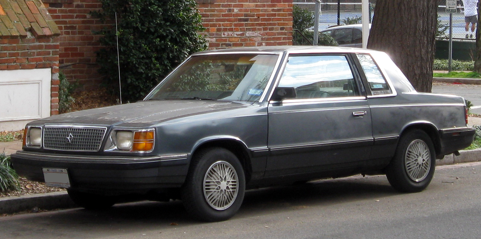 Plymouth Reliant 1989 #3