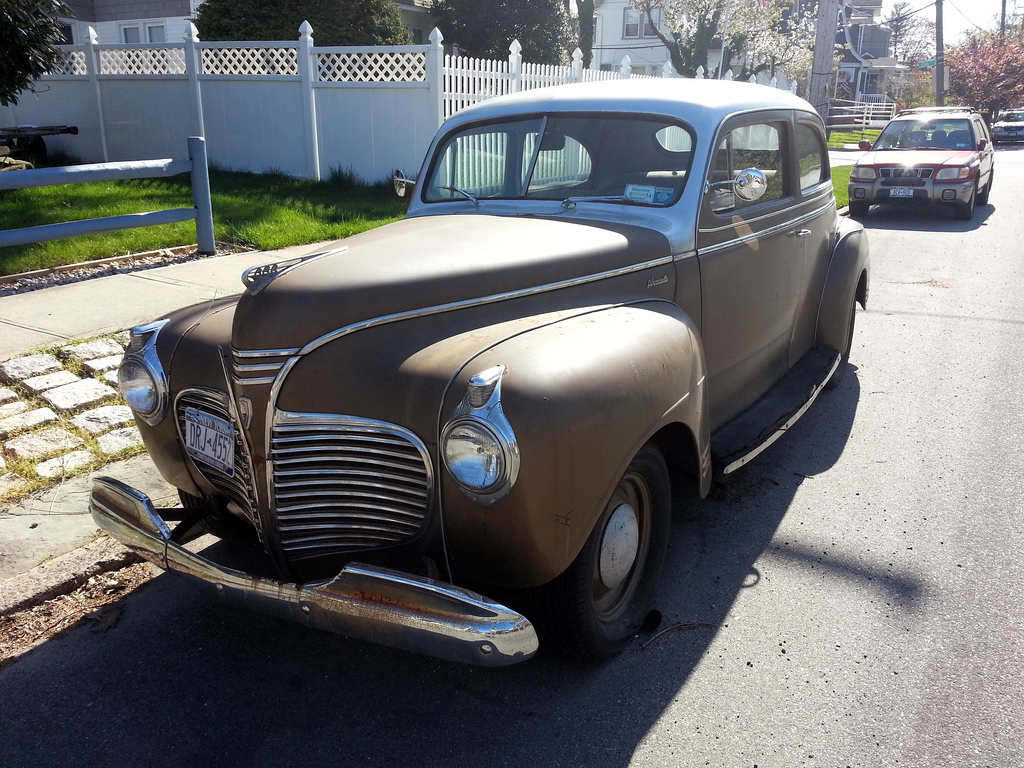 1941 Plymouth Special Deluxe Information And Photos Momentcar Business Coupe 3
