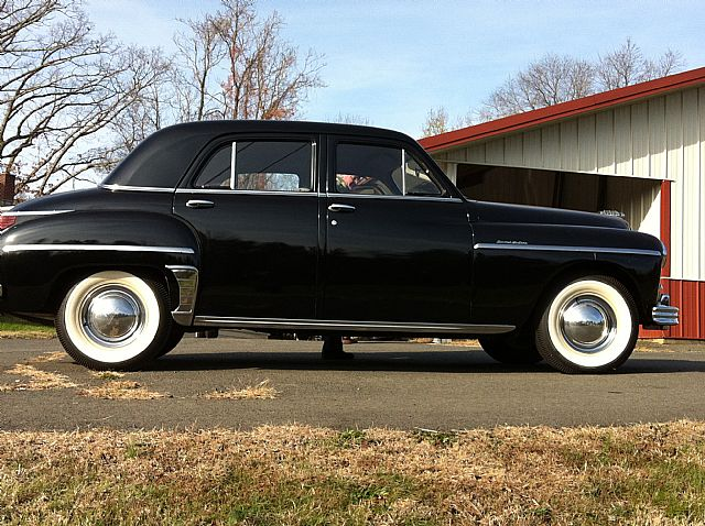 1949 plymouth special deluxe information and photos for 1949 plymouth 4 door sedan