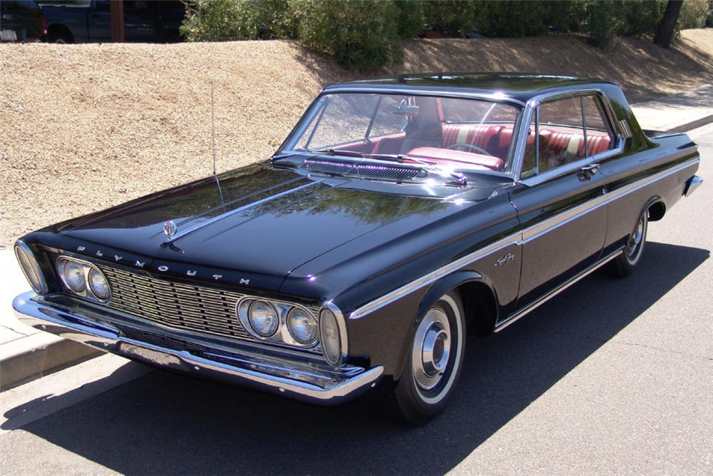 1963 Plymouth Sport Fury Information And Photos Momentcar