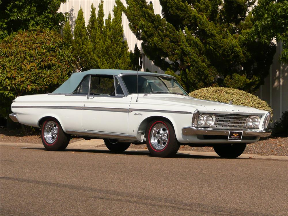 Plymouth Sport Fury 1963 #4