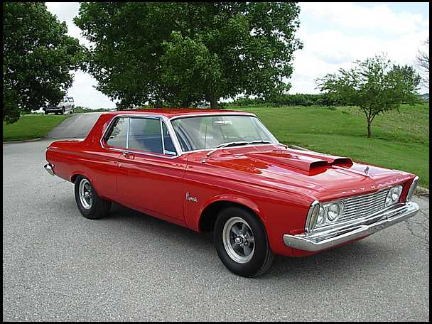 Plymouth Sport Fury 1963 #7