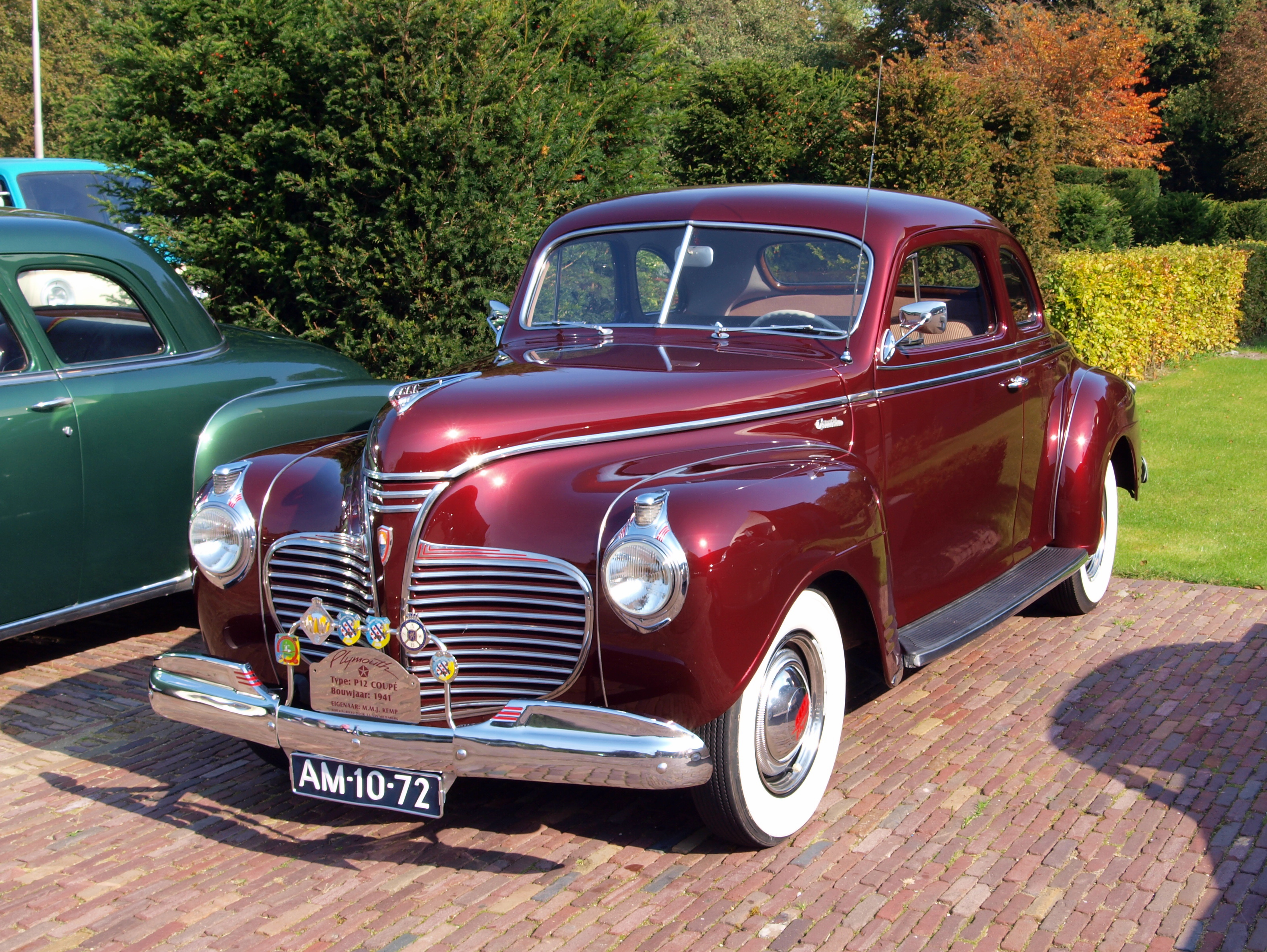 1941 Plymouth Standard Information And Photos Momentcar Deluxe 2 Door