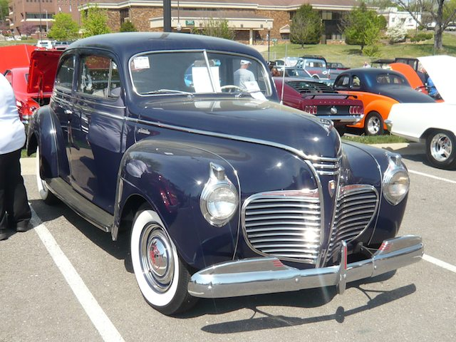 1941 plymouth standard information and photos momentcar for 1941 plymouth deluxe 4 door