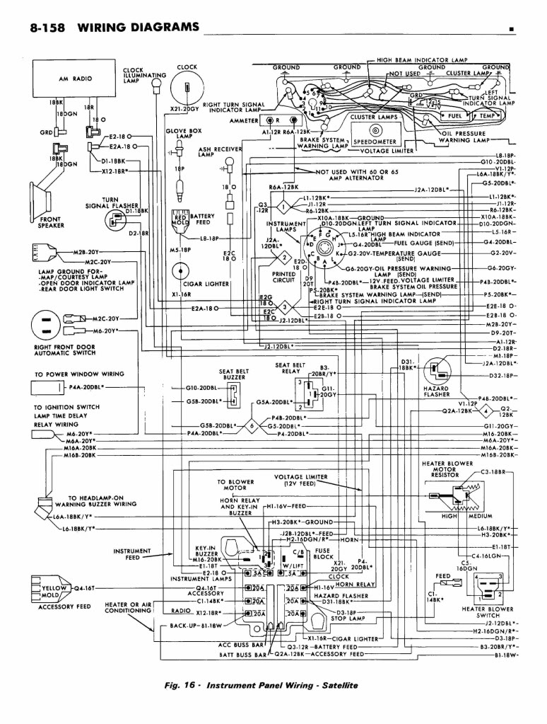 Fantastic 69 Road Runner Wiring Diagram Basic Electronics Wiring Diagram Wiring 101 Photwellnesstrialsorg