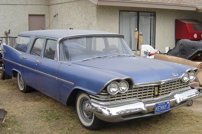 1959 Plymouth Suburban Information And Photos Momentcar