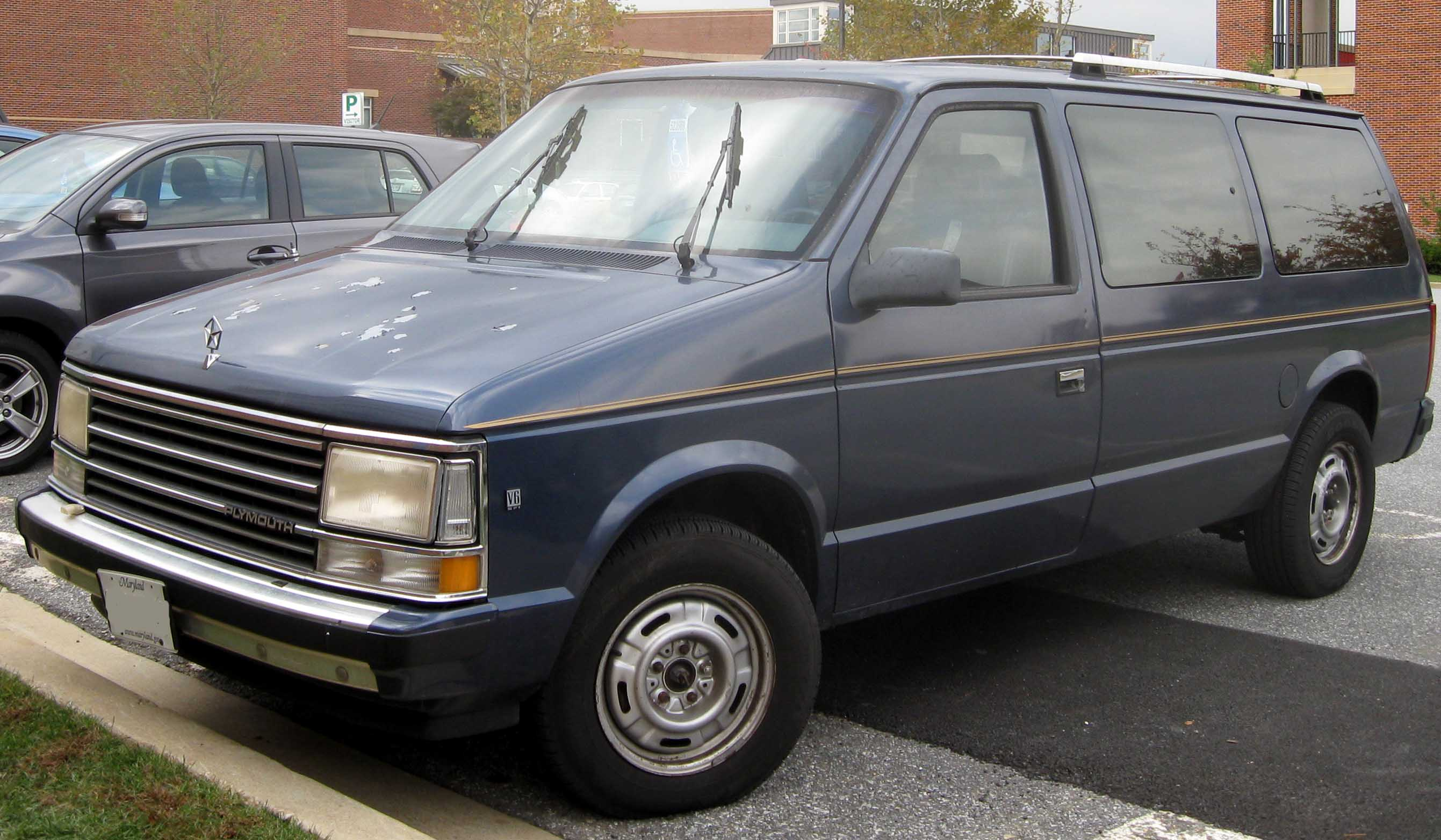 1986 Plymouth Voyager Information And Photos Momentcar